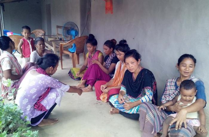 Christian beauticians leave Dhaka and return to their villages because of the coronavirus
