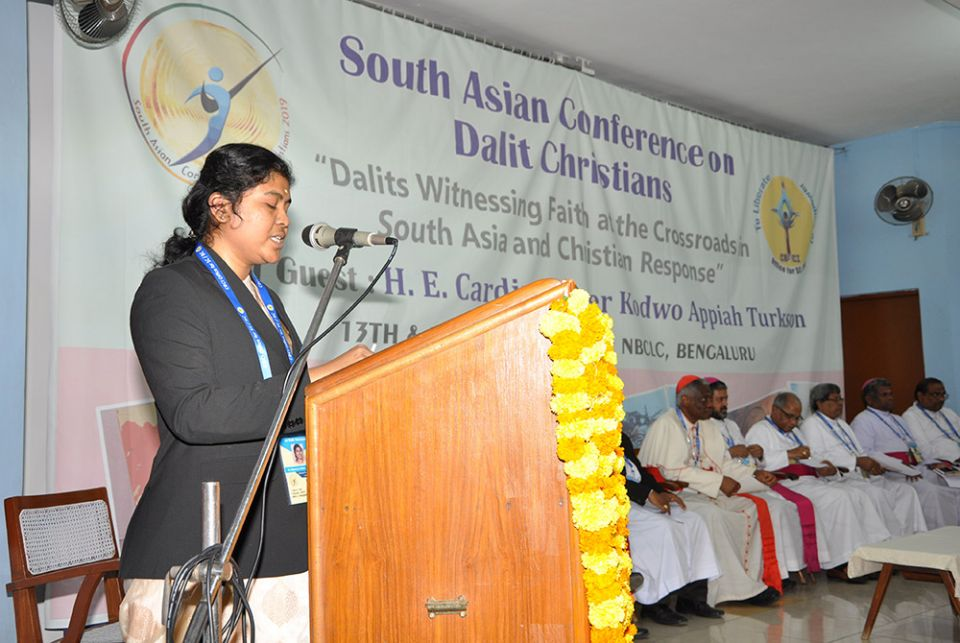 God's unique, mysterious call to serve the Dalits
