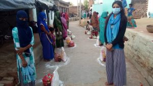 While battling COVID-19 pandemic, Dalit woman emerges as leader