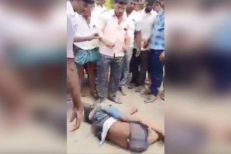 Dalit man, family beaten and sexually harassed allegedly for touching vehicle in K'taka