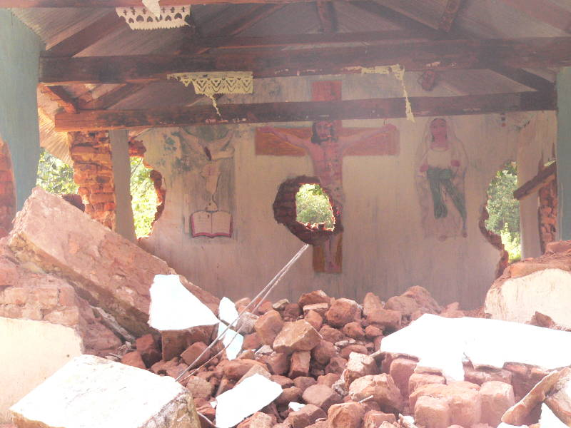 Church in Southern India Demolished by Unknown Assailants