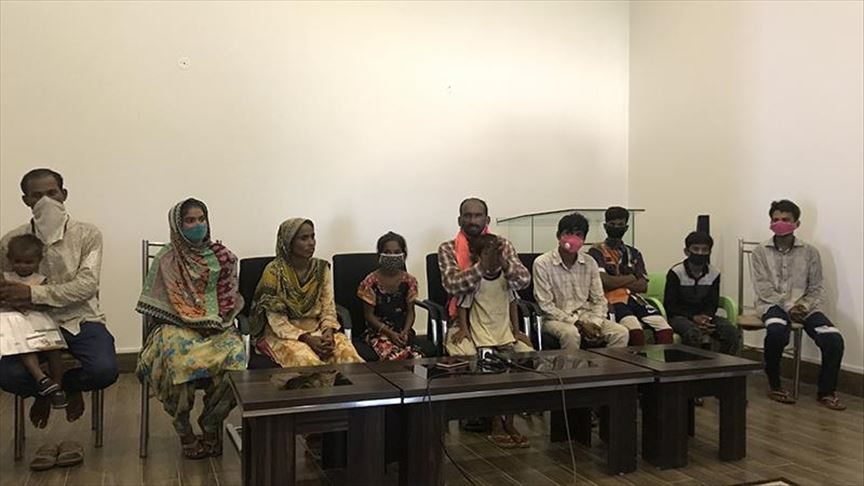 With shattered dreams, 14 Pakistani Hindus return home