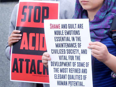 Three dalit sisters attacked with acid in UP's Gonda district