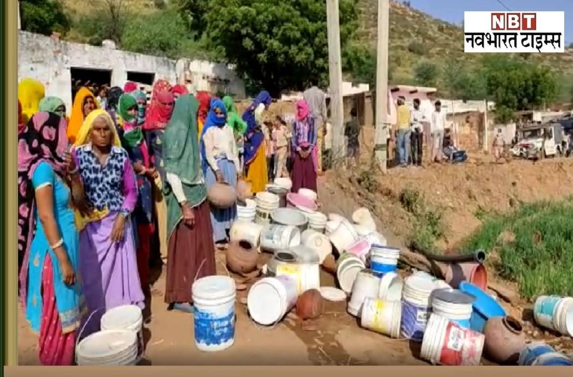 Alwar: Dabangs attacked Dalits, cut off water supply line, did not get votes in Panchayat elections