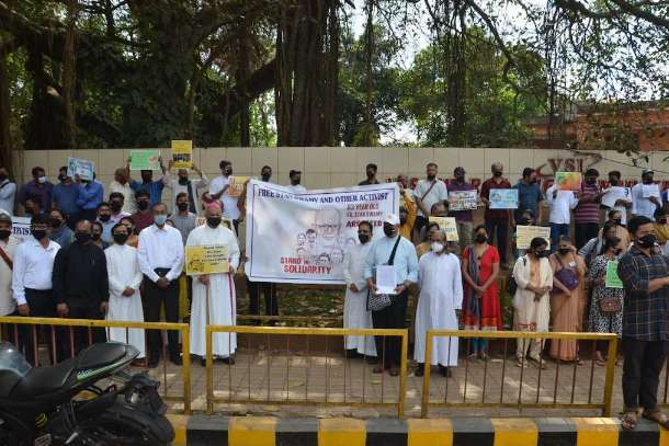 Christians ask Indian leaders to ensure bail for elderly Jesuit