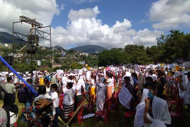 Massive Christian protest in India over blocked church refit