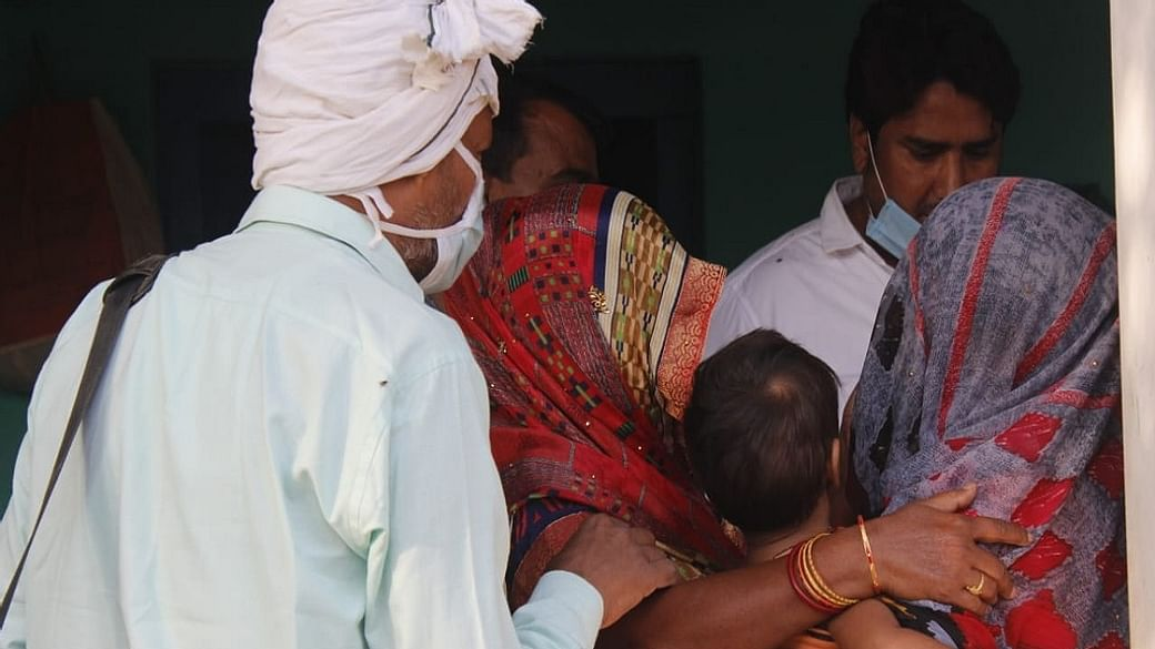 Demand: Dalit family appeals for security