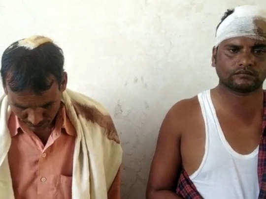 lalitpur news: Drank people broke the hand of Dalit and beaten the family members when they drank water from the pot