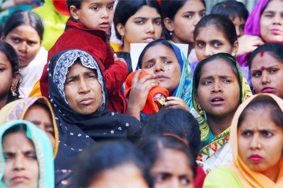 Rally out:Dalit girls rally in Dhulwas to increase scholarship