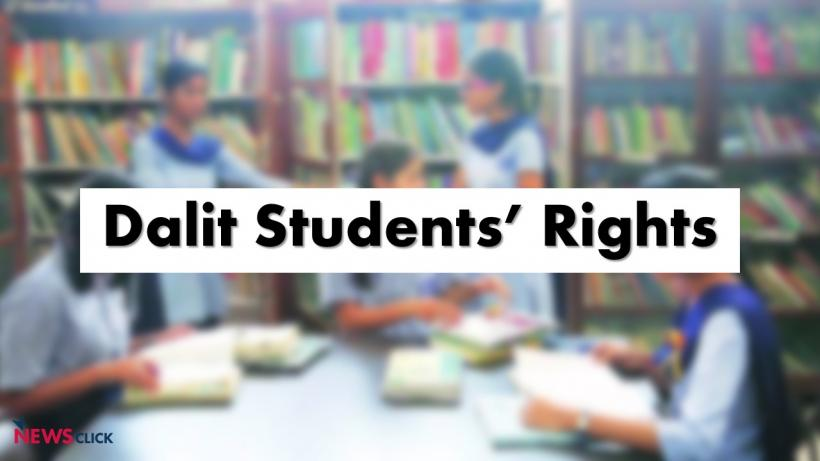 Dalit Activists Protest Against Possible Scrapping of Post-Matric Scholarship Scheme