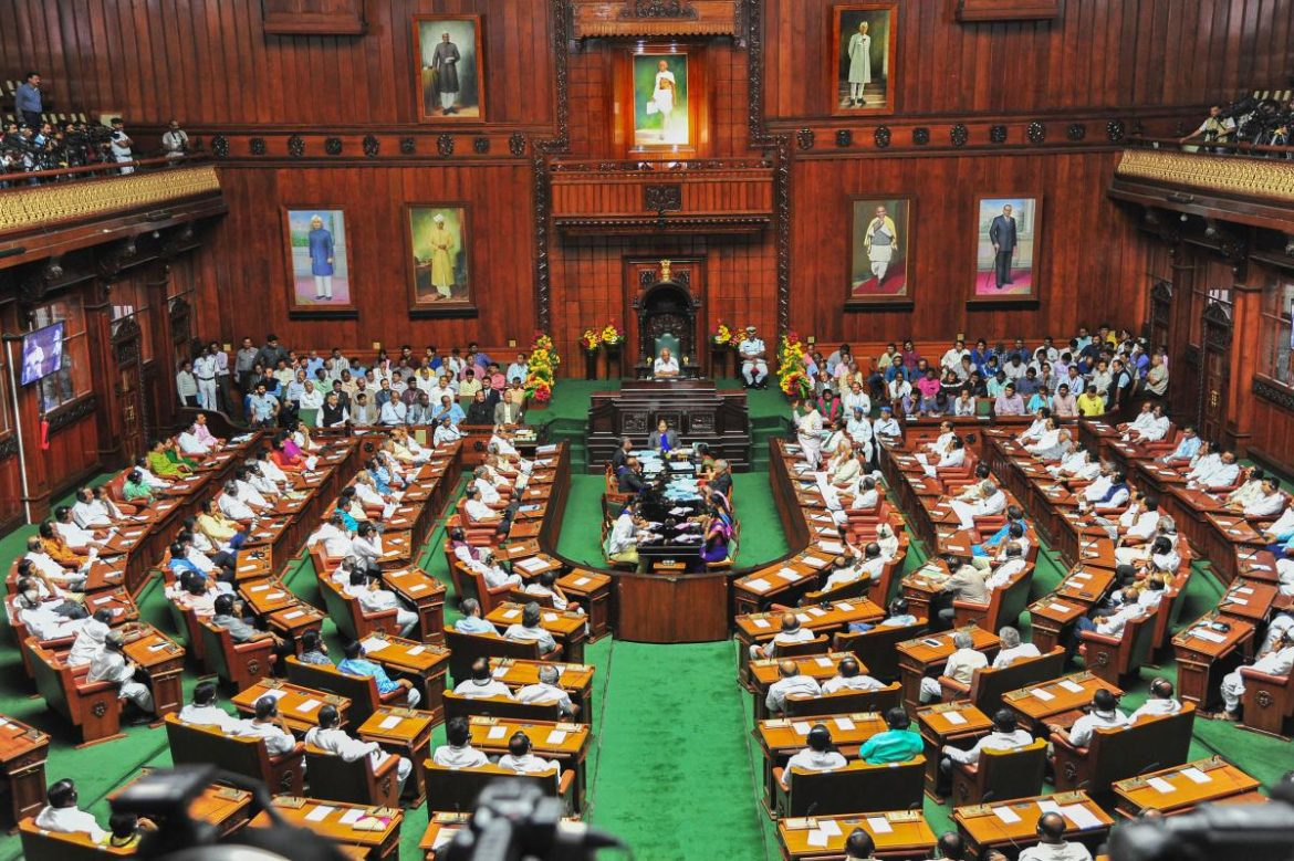 Uproar in Karnataka Assembly Over Diversion of SC/ST Funds for Construction of Flyover