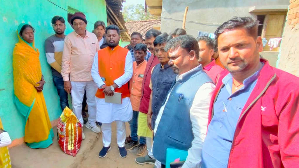 BJP protests two alleged cold related Dalit deaths in Gumla and Bokaro