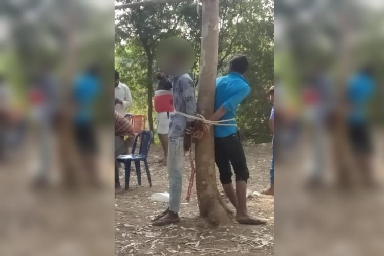 Dalit teenagers in Andhra bound and brutally beaten after being accused of stealing