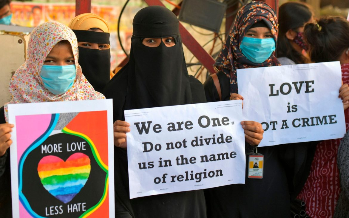 Indian Muslims flee their homes after Love Jihad laws leave them in fear of Hindu neighbours