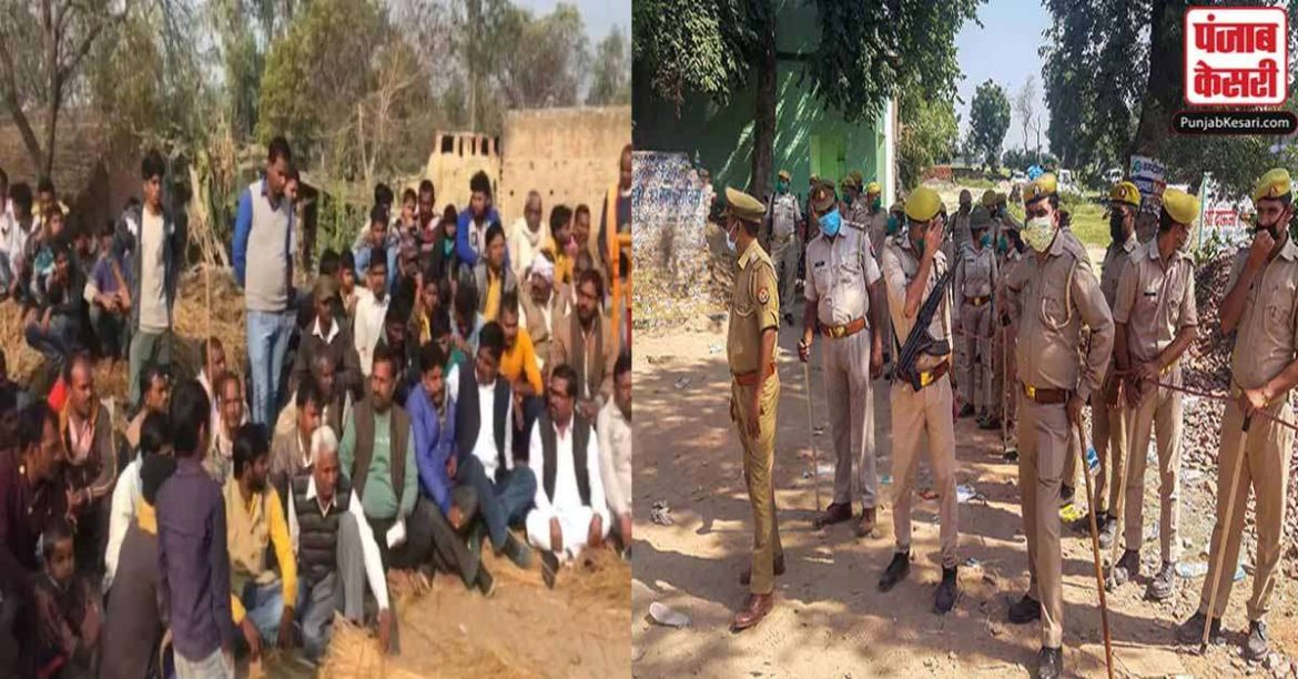 Unnao case: People sitting on dharna, village transformed into cantonment, Akhilesh can meet victim family