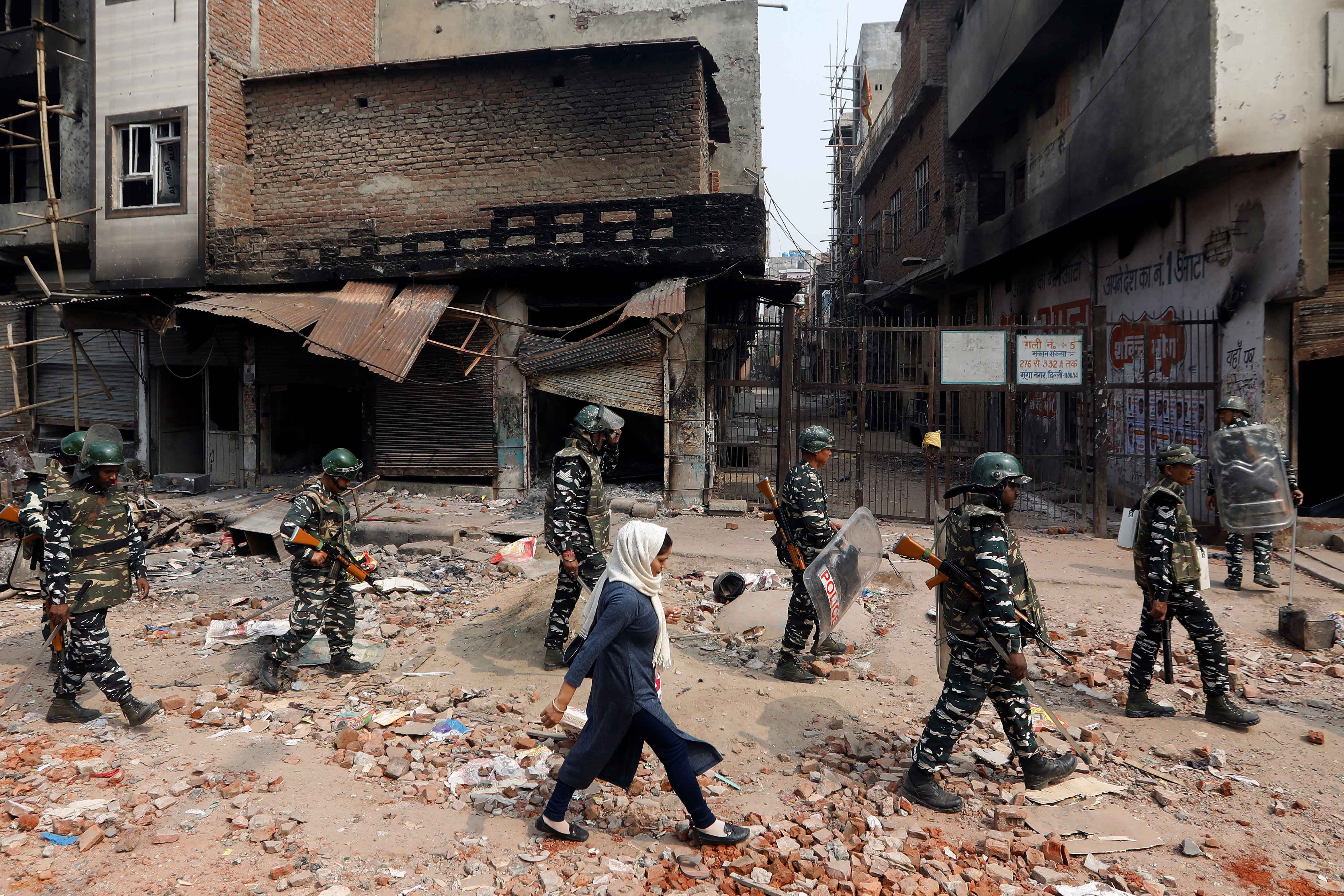 Year After Delhi Violence, Bias Against Muslims Taints Investigation: HRW