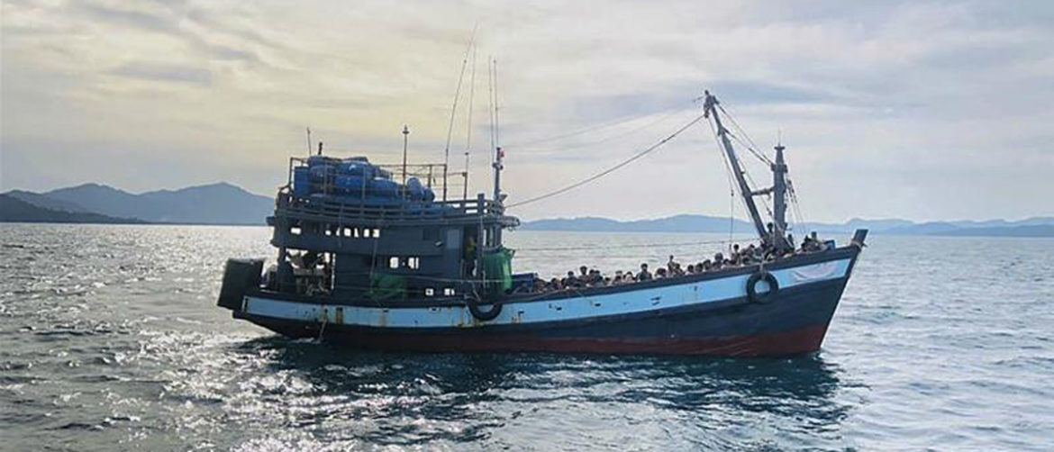 Boat with 90 Rohingya drifts into Indian waters, UN calls for rescue