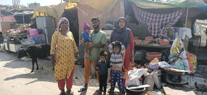 Not far from Ghazipur protest site, Gadia Lohar community struggle for housing rights