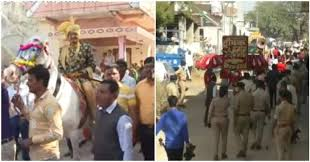 This Is Why More Than 60 Policemen Accompanied A Dalit Groom's Wedding Procession In Gujarat