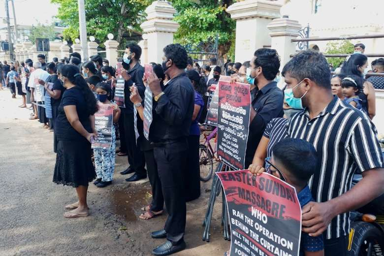 Relatives of Sri Lanka terror victims launch legal action