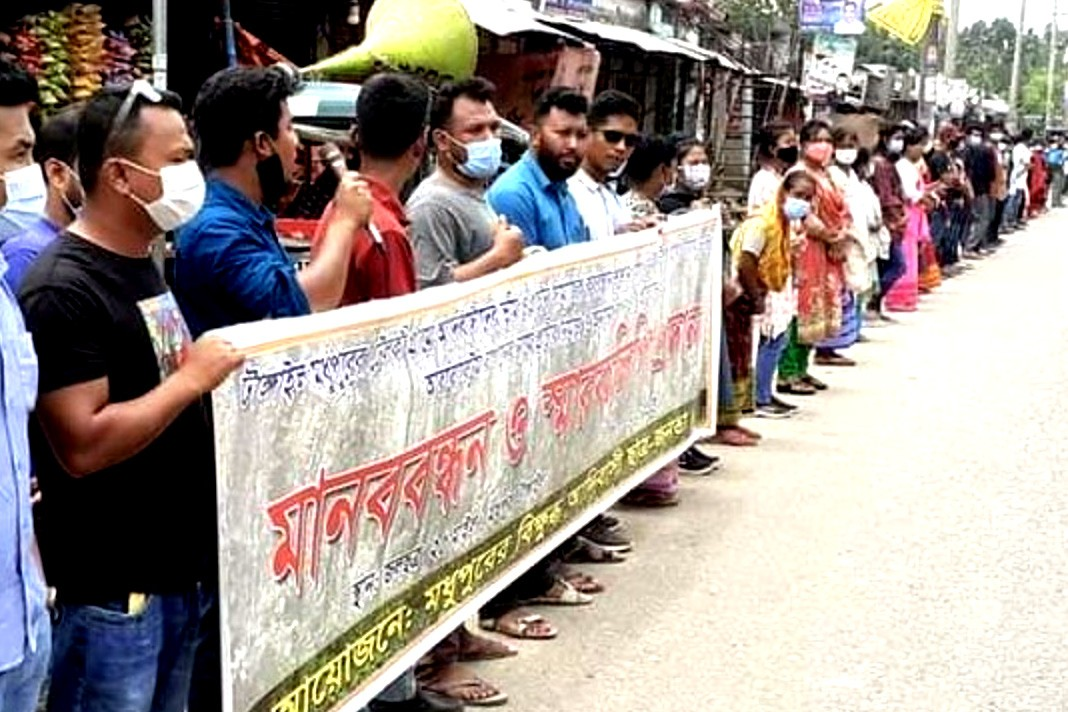 Indigenous people in Bangladesh protest gov't incursion into forest