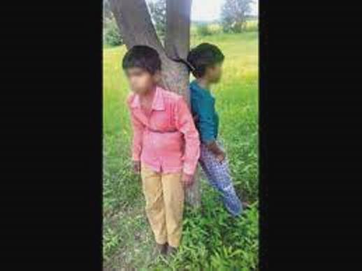 2 minor Dalit boys tied to tree, thrashed for hours for plucking 'jamun'