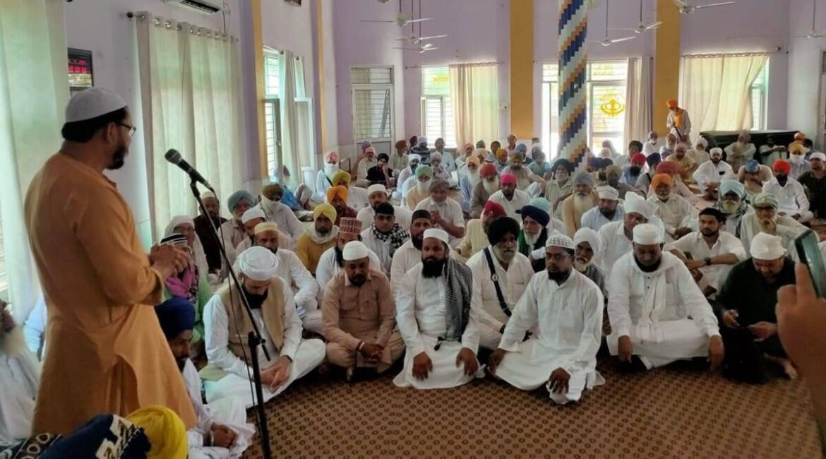 Punjab: Village with 7 gurdwaras, 2 temples pitches in to build mosque for its 4 Muslim families