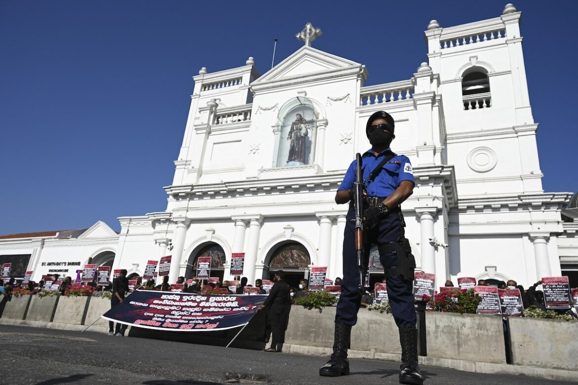 Catholics in Sri Lanka hold protests over gov't failure to solve 2019 bombings