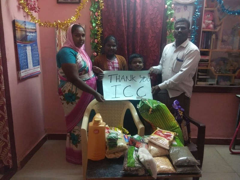 ICC Provides Aid for a Pastor's Family in India