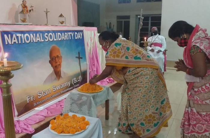 From Delhi to Odisha, a day of solidarity in memory of Fr Swamy