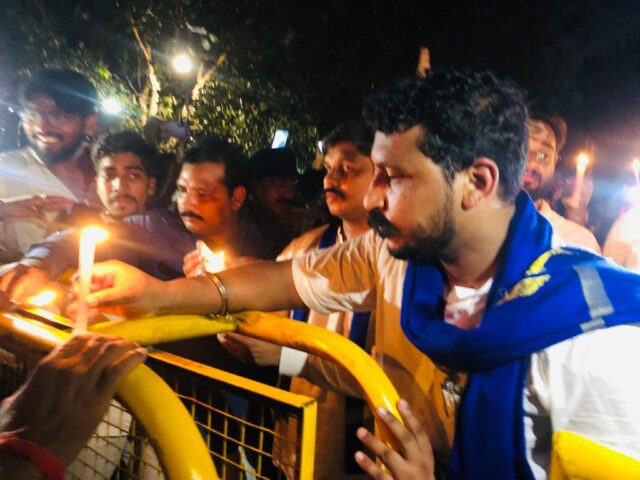 Rabia rape-murder case: Chandrashekhar Azad took out candle march in Lucknow