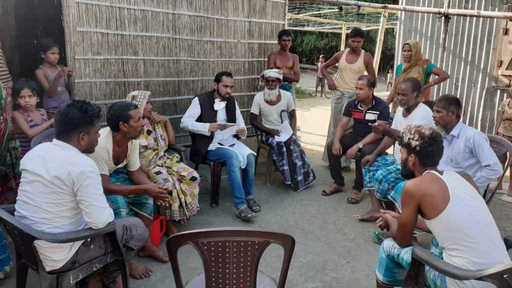 Muslim Delegation Visits Assam's Sipajhar: SIO to Sponsor Education of Moinul Hoque's Children