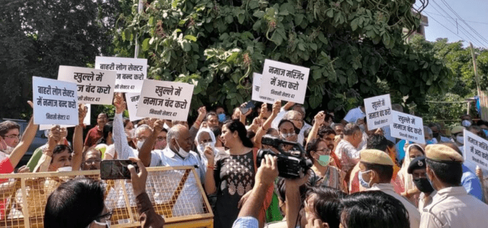 Protests against Friday prayers a deliberate attempt to disrupt peace in Gurugram